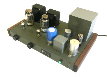 Angular view of ST88 SE Stereo Amplifier